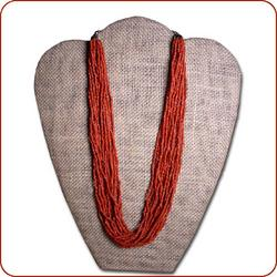 Faux Coral Necklace