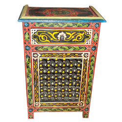 Marrakech Night Stand (black)