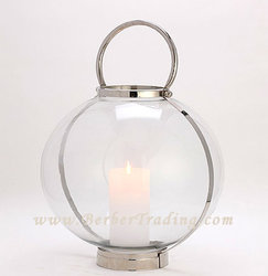 Globe Candle holder - Clear