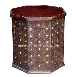 Loulou Moroccan Stool