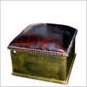 Hammered Moroccan Stool