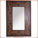 Badia Painted Mirror