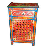 Marrakech Night Stand (Red)