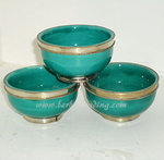 Arabian Ceramic TBowl -Green