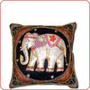 Burmese Elephant Pillow