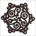 Nejma Carved Wall Plaque